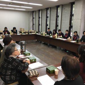同窓会入会式  2月28日