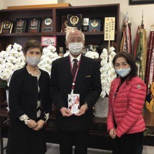 内村公春先生(ルーテル学院中学高等学校長) 叙勲のお祝い